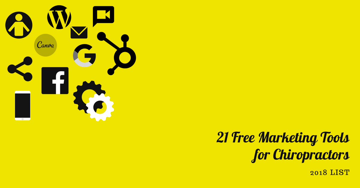 21 FREE MARKETING TOOLS