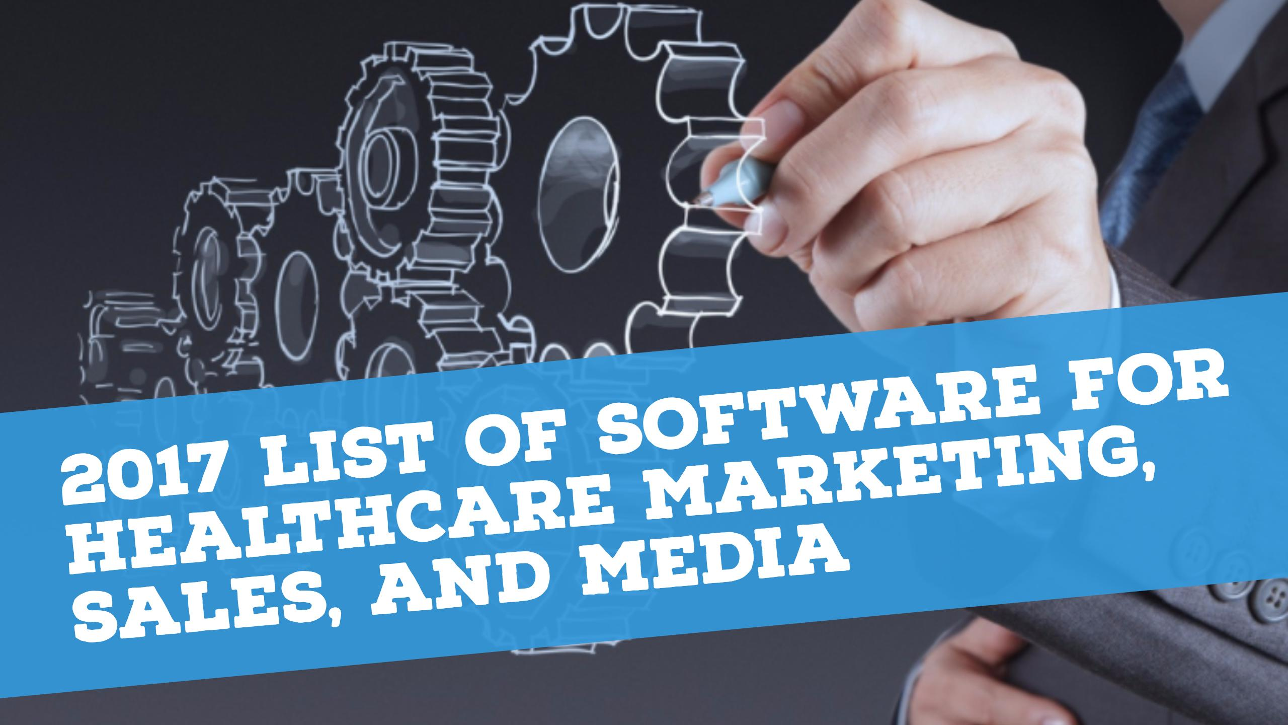 Healthcare Marketing Software