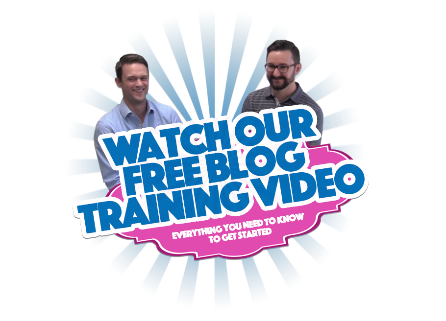 Watch Our Free Blog Training Video